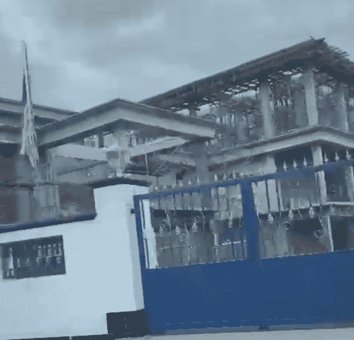 """Selepas dipecat,tular pula """"Istana"""" besar Tajuddin yang sedang diubahsuai"""
