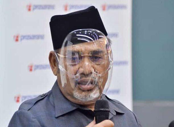 Tajuddin hanya dikompaun RM1,500 tak pakai pelitup muka semasa sidang media