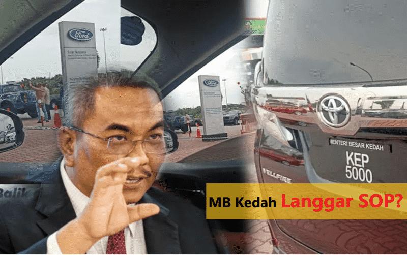 """Test drive kereta : Video ini bukti MB Kedah """"terkantoi"""" menipu?"""