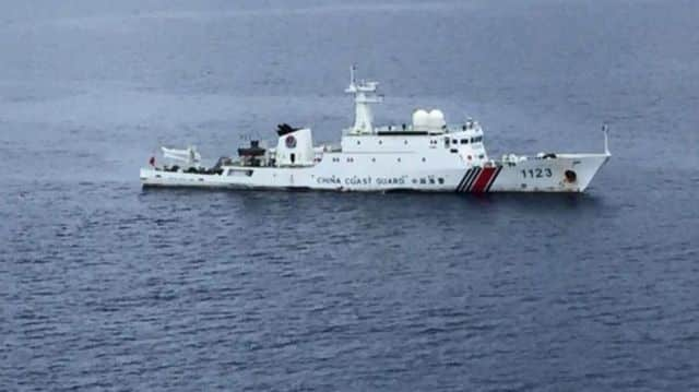 Terkini : Selepas Jet, Kapal Laut dari China pula dikesan masuk perairan Malaysia