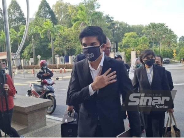 Terkini : Syed Saddiq tiba di mahkamah untuk didakwa