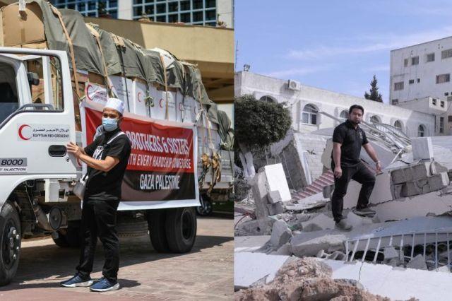 Rupanya bantuan yang Ebit Lew hantar ke Gaza tidak sampai pun, ini cerita sebenar