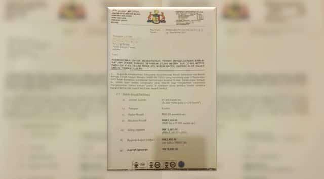 Surat kelulusan projek pasir pemimpin Umno Melaka bocor, patutlah Idris mengamuk